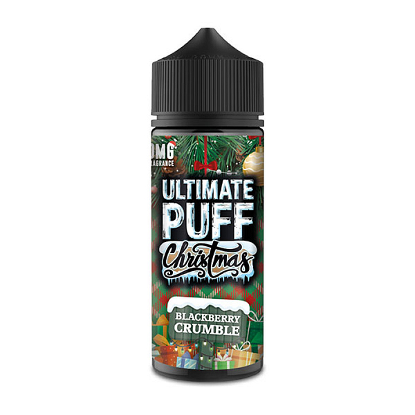 Cheap Moreish/Ultimate Puff - Christmas Edition - Blackberry Crumble flavoured eliquid