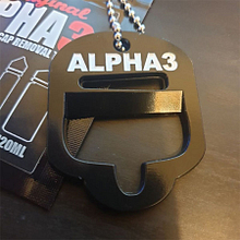 Alpha 3 Bottle Opener