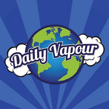 Discounted Daily Vapour 10ml 50:50 Premium Lemon Cheesecake 12mg Flavoured Eliquid