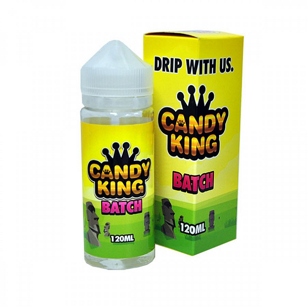 Cheap 120ml Candy King Batch Sweet Flavoured Eliquid includes x2 nic shots