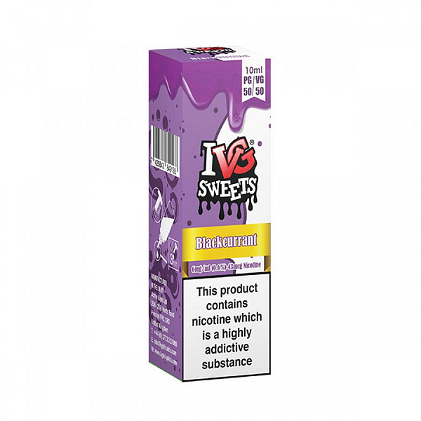 Cheap 10ml 6mg 50:50 Ivg Blackcurrant Millions Sweet flavoured eliquid