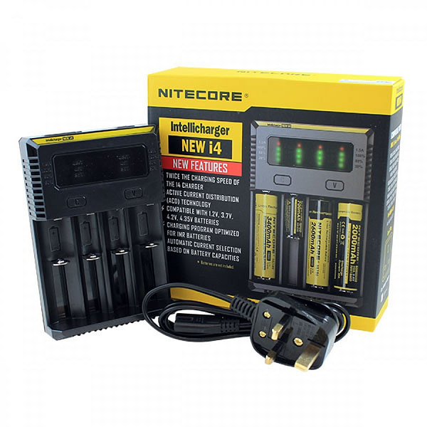 Cheap Nitecore i4 Quad Battery Charger