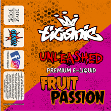 Unleashed – Fruit Passion (50ml)