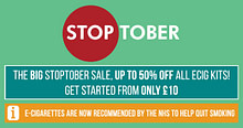 The Big Stoptober Sale Starts soon…