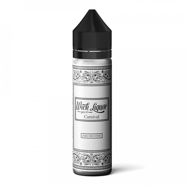 Discounted Wick Liquor Carnival Shortfill Flavoured Eliquid