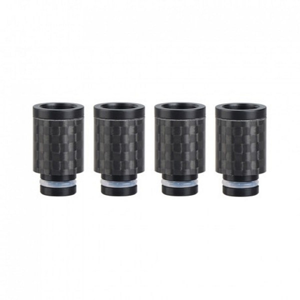 Discounted Plastic 510 drip tip carbon fiber wrap