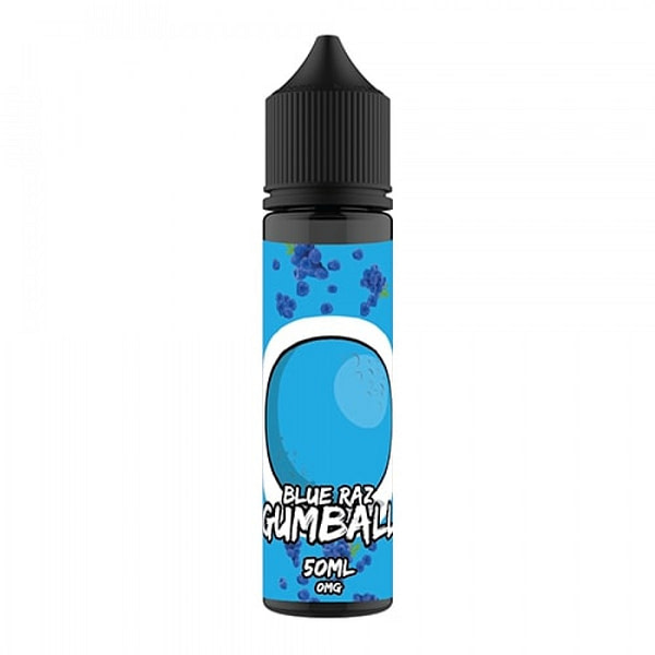 Sale Gumball 50ml Blue Raz eliquid - If you like the single flavour of bubblegum? Then this is the one for you, a real smooth bubblegum vape.