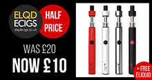 Half Price E-Cigarette Starter Kit