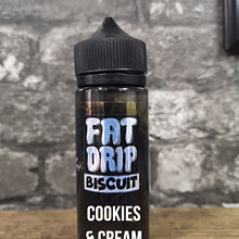 Fat Drip – Biscuit – Cookies & Cream (100ml)