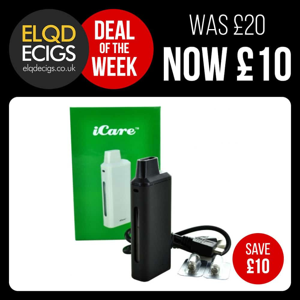 Weekly Deal – Double Discount – Eleaf iCare £9.99