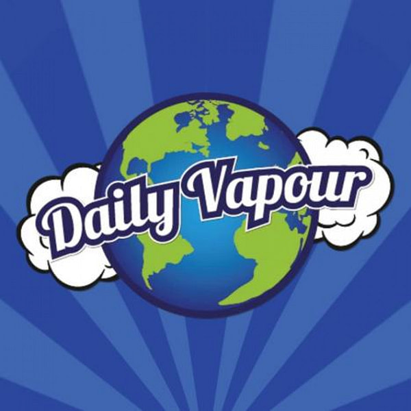 Discounted Daily Vapour 10ml 50:50 Premium Strawberry 12mg Flavoured Eliquid