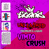 Shop Unleashed Titanic Vimto Crush Shortfill Eliquid
