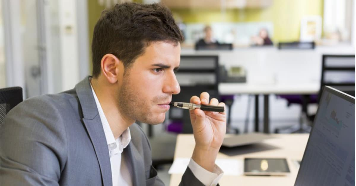 UK Government Says: Let Employees Vape At Work