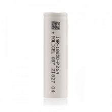 18650 Battery Cell – Molicel P26A (2600mAh)