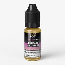 ELQD ECIGS – Rhubarb & Custard – 10mg (Nic Salt) (10ml)