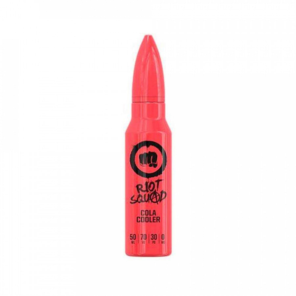 Cheap Riot Squad Cola Cooler Flavoured Eliquid 50ml - Let cola chaos reign. A virtuous cola gone mad, with a sweet underlying flavour