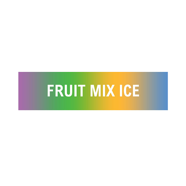 Sale 10ml 18mg Fruit mix with ice flavoured eliquid