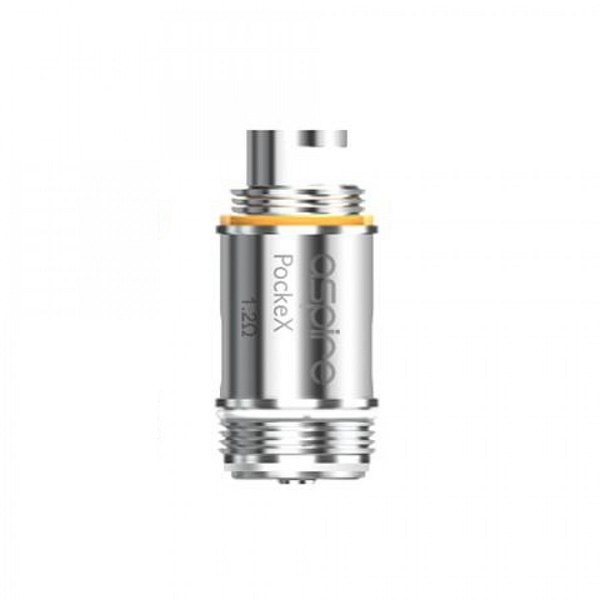 Cheap Aspire PockeX Coils x1 1.2ohms For Mouth To Lung Vaping