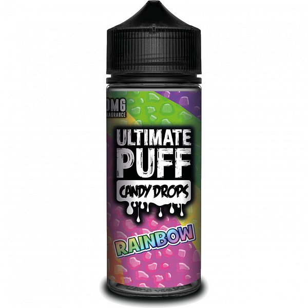 Cheap 120ml Ultimate Puff Candy Drop Rainbow Sherbet Flavoured Eliquid