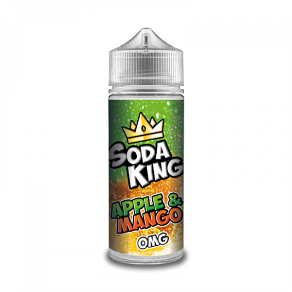 Sale Soda King Apple & Mango Flavoured Eliquid 50ml Shortfill