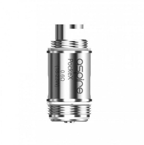 Discounted Aspire PockeX Coils 0.6ohms For Sub-Ohming