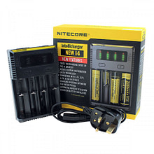 Nitecore i4 – Quad Battery Cell Charger (Mains)