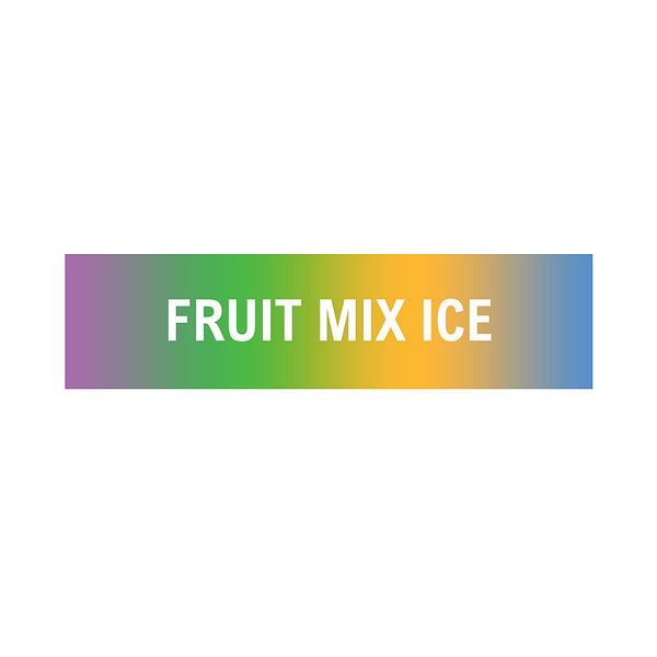 Discounted 10ml 12mg Fruit mix with ice flavoured eliquid